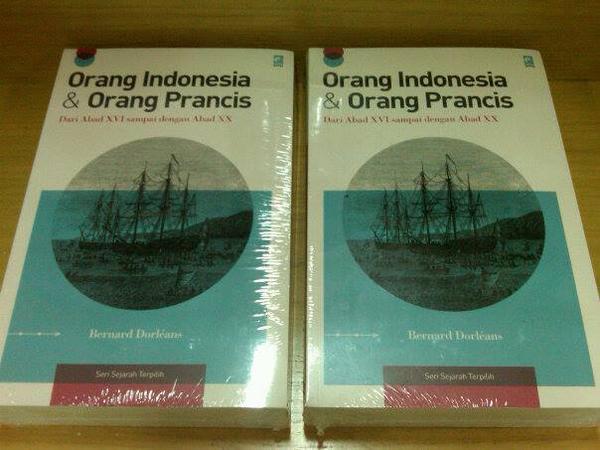 Buku Orang Indonesia dan Orang Prancis (Bukalapak)