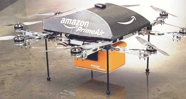 Drone delivery buatan Amazon (Abcexperiment)