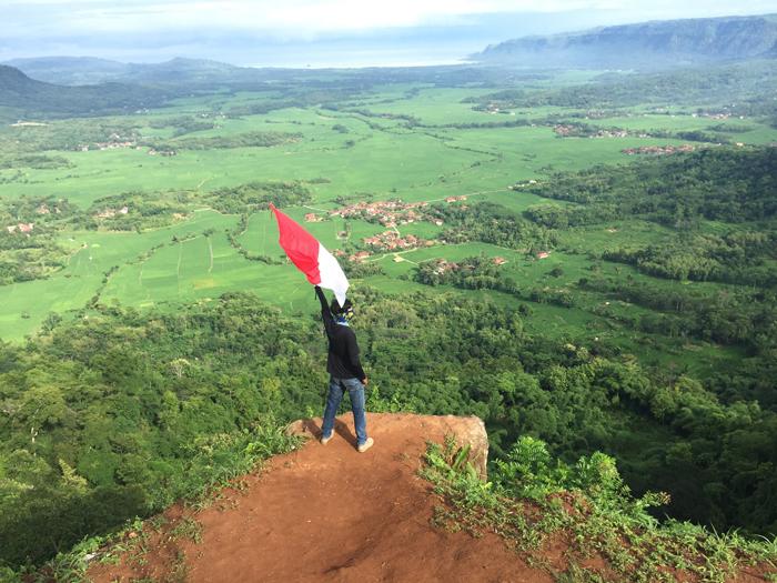 Bukit Panenjoan, Ciletuh Geopark