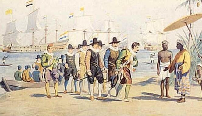 Ilustrasi kependudukan Belanda (Boombastis)