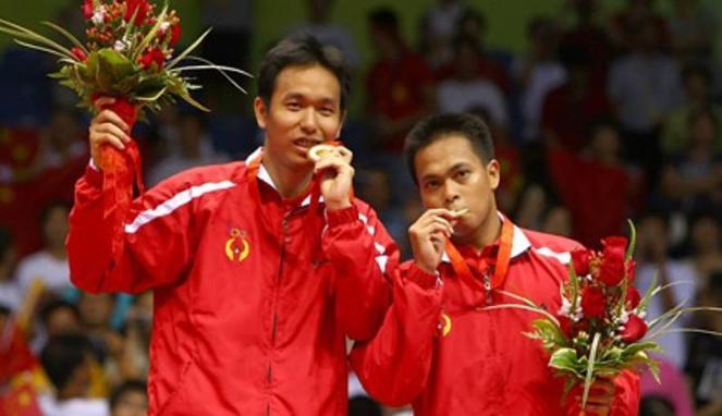 Markis Kido dan Hendra Setiawan (Viva)