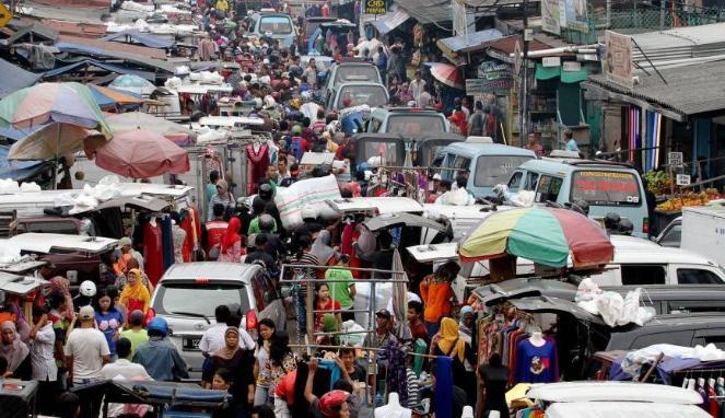 Pasar tumpah (Depoktren)