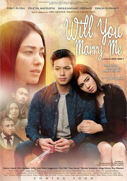 Poster film Will You Marry Me (Movie.co.id)
