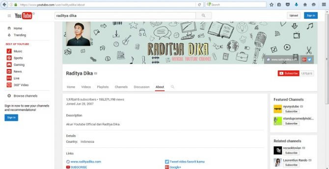 Raditya Dika (YouTube)