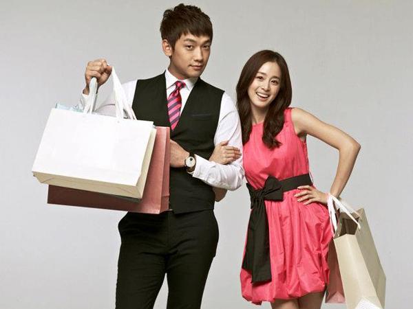 Rain dan Kim Tae Hee (www.kpopstarz.com)