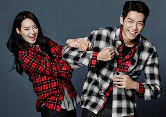 Shin Min Ah dan Kim Woo Bin (www.ceritakorea.com)