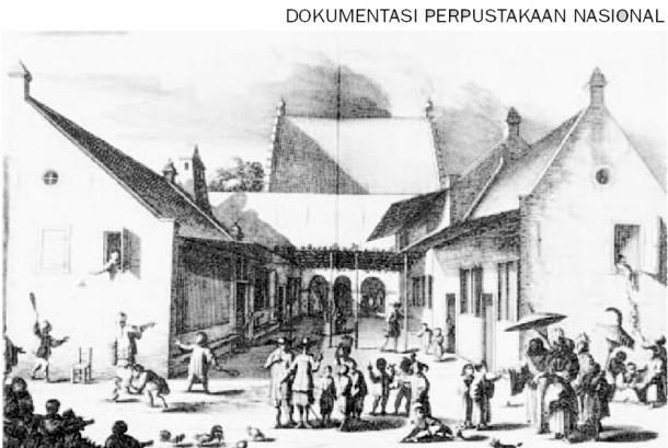Penghancuran Kastil Batavia (Perpustakaan Nasional)