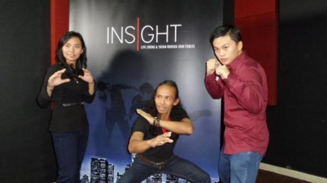 Livi Zheng dan Yayan Ruhian (Tribunnews)