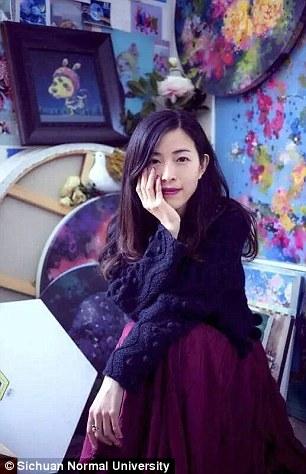 Dong Jing, dosen komunikasi visual dan animasi Sichuan Normal University (Daily Mail)