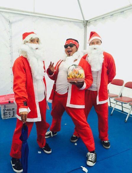 Kostum Santa Claus (Facebook)