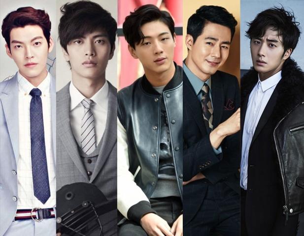 Setujukah Kamu, 5 Aktor Korea Ganteng Ini Dicap Bad Boy
