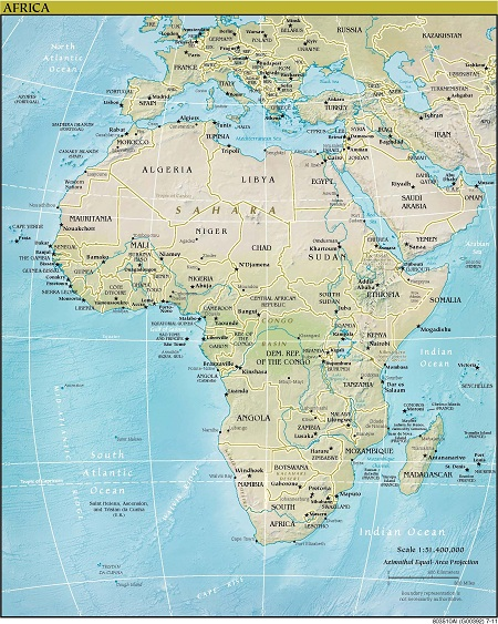 Benua Afrika (Wikipedia)