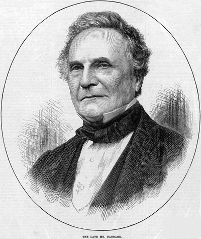 Charles Babbage (Wikipedia)