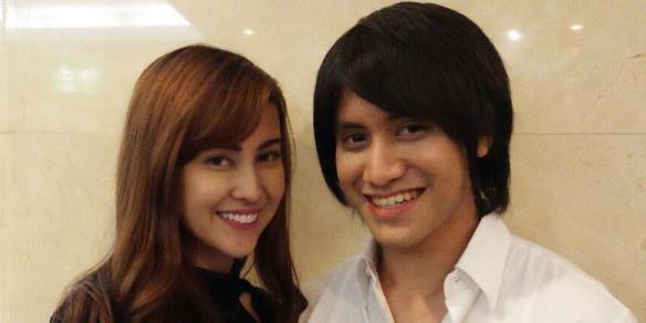 Kevin Aprilio dan Vicy Melanie (Kompas)