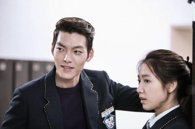 Kim Woo Bin dalam drama Heirs (couch-kimchi.com)