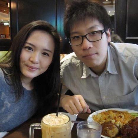Mirna dan suaminya (Facebook)