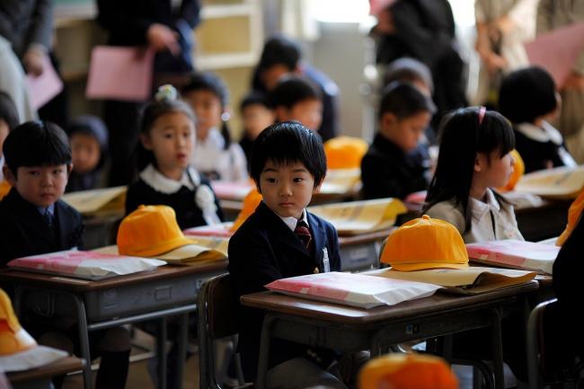 Murid SD Jepang (Reuters)