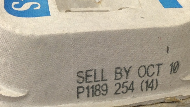 Sell by date (Extension)