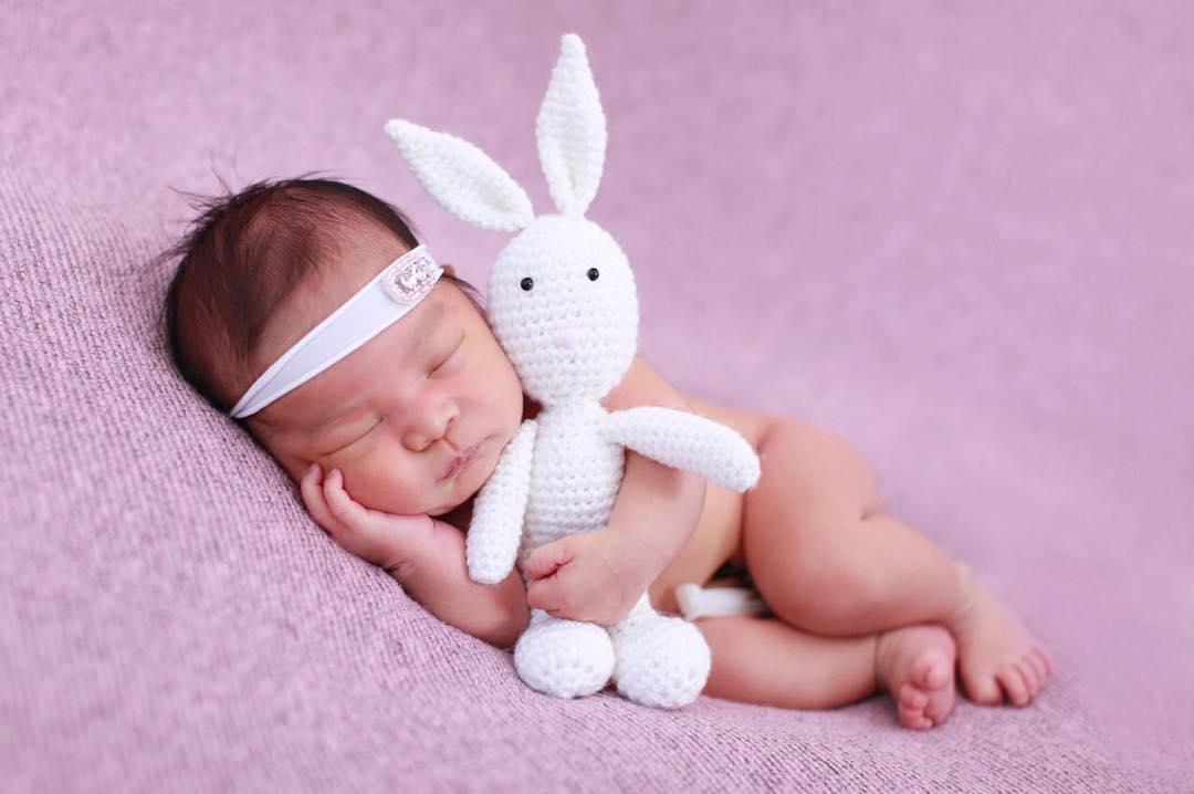 Imutnya Nastusha, Bayi Cantik Pelengkap Bahagia Chelsea Olivia dan Glenn Alinskie