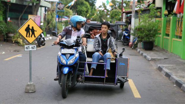 Ojek Khusus Difabel Pertama di Dunia Ada di Yogyakarta, Inspiratif!