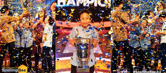 Takjub! Begini Aksi Tristan, Bocah 11 Tahun yang Menang Kompetisi Mengeja Kata di Australia