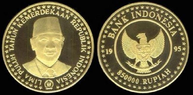 Uang koin Rp 850 ribu (Wowmenariknya)