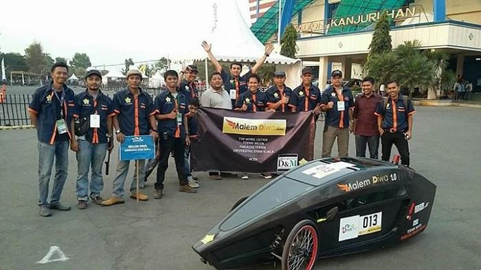 Keren, Mahasiswa Aceh Ciptakan Mobil Listrik Hemat Energi