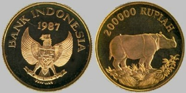 Uang koin Rp 200 ribu (Wowmenariknya)