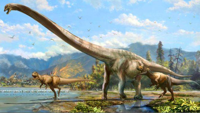 Ilustrasi dinosaurus (Lida Xing)