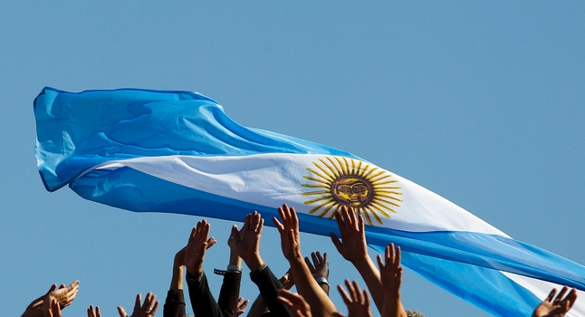 Bendera Argentina (Upstreamonline)