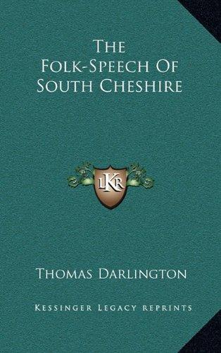 Buku The Folk-Speech of South Cheshire (Amazon)