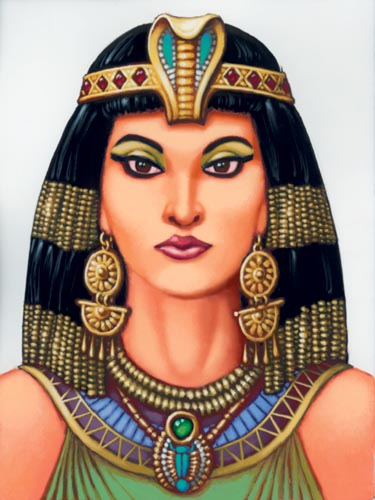 Ilustrasi Cleopatra yang cantik (Patamani)