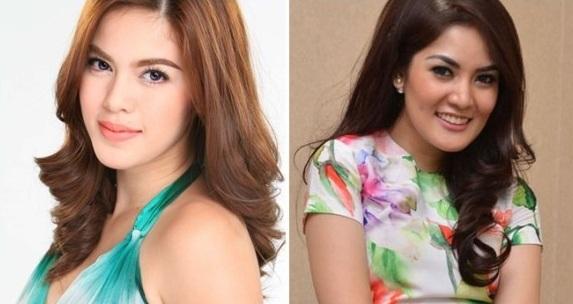 Shaina Magdayao dan Nindy Ayunda (Selebupdate)