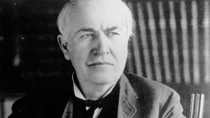 Thomas Alva Edison (Biography)