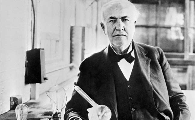 Thomas Alva Edison (Ndtv)