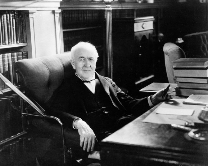 Thomas Alva Edison (New York Times)