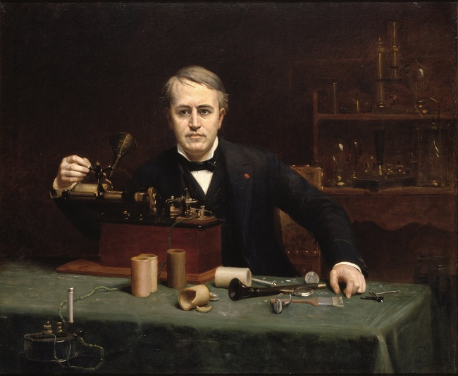 Thomas Alva Edison (Wikipedia)