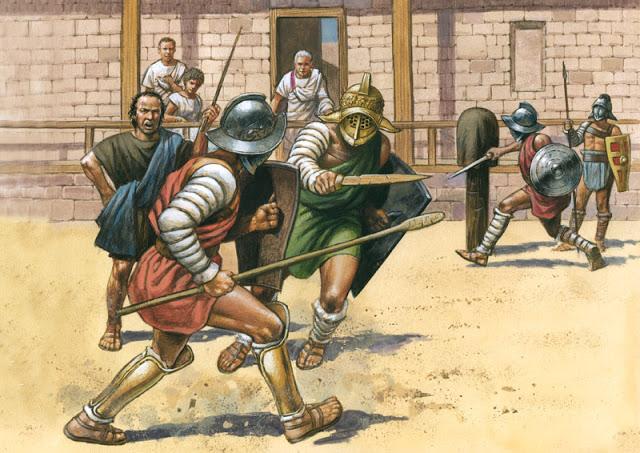 Latihan gladiator (History)