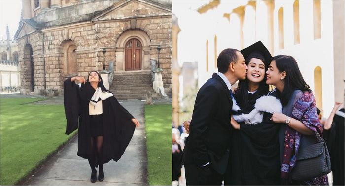 Maudy Ayunda Jadi Orang Indonesia Pertama yang Lulus Jurusan Politik Universitas Oxford