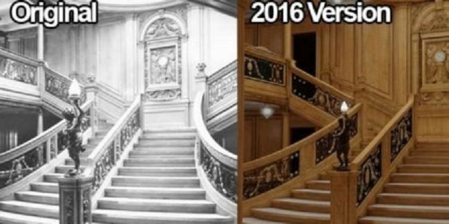 Perbandingan interior Titanic dan Titanic II (Lifebuzz)