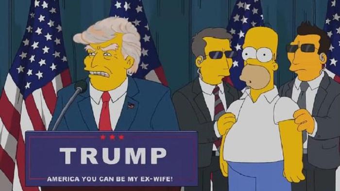 Adegan The Simpsons Ini Ramalkan Donald Trump Jadi Presiden