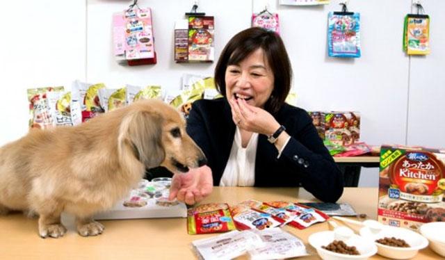 Ilustrasi pencicip makanan anjing (Anehdidunia)
