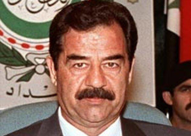 Saddam Hussein (Listverse)