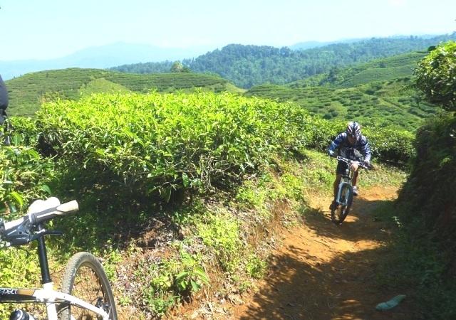 Bersepeda di Kaki Gunung Salak (artinriky.wordpress.com)