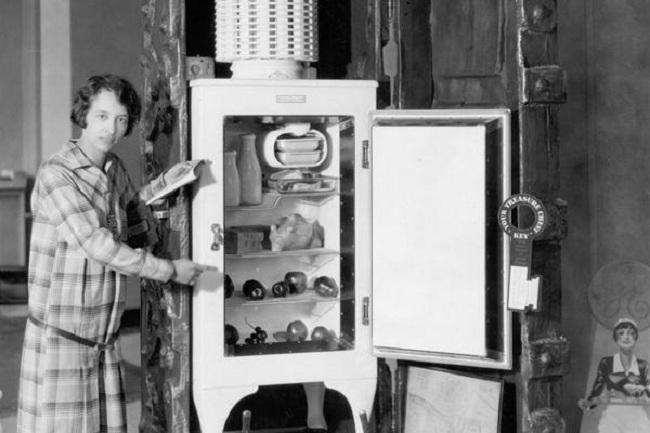 Florence Parpart dan kulkas temuannya (Mirage)