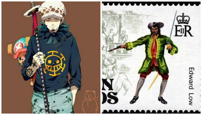 Trafalgar D. Water Law dan Edward Low (Alabn)