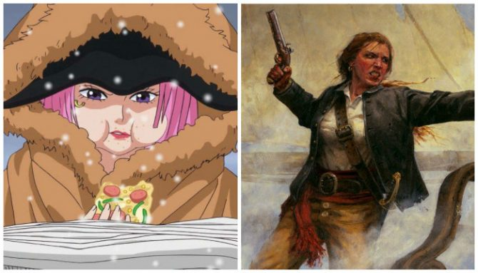 Jewerly Bonney dan Anne Bonny (Alabn)