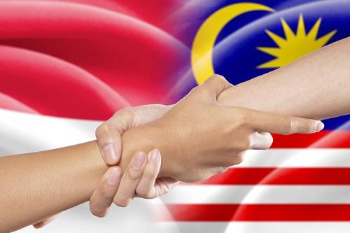 Indonesia dan Malaysia (Rayapos)