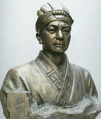 Patung Cai Lun (Alchetron)