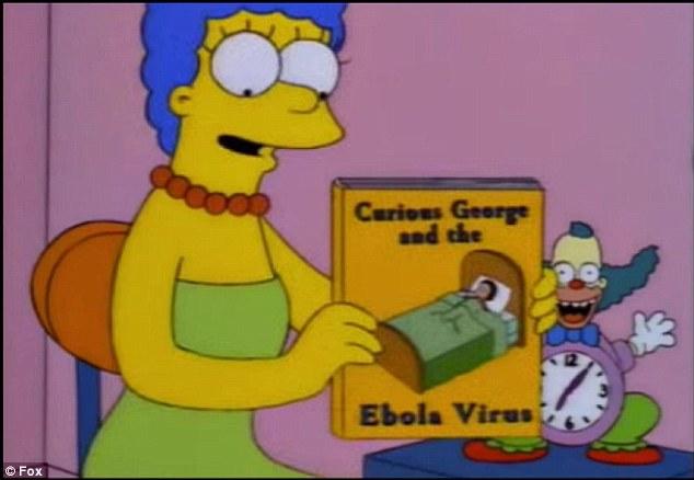 Prediksi virus Ebola (Daily Mail)